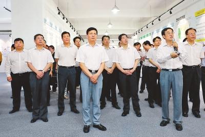 谢伏瞻陈润儿等省领导调研郑州航空港经济综合实验区