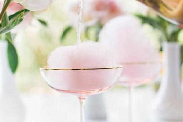 棉花糖鸡尾酒 制作过程超治愈
