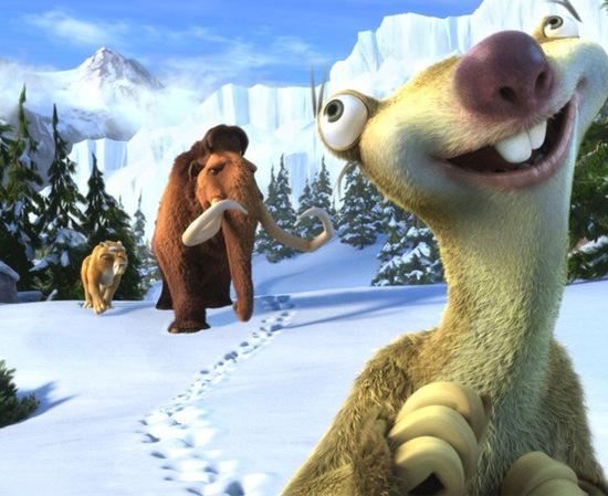 """原来《冰河世纪》裏的希德其实是""""巨爪地懒"""""""
