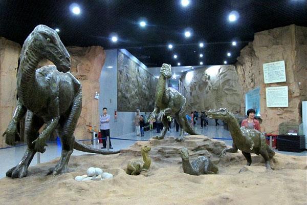 西峡恐龙园游记 穿越亿万年去见你
