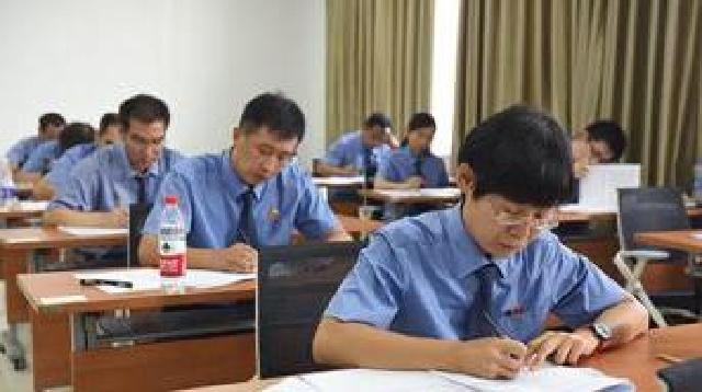 辽宁检察机关举行首批员额制检察官入额考试