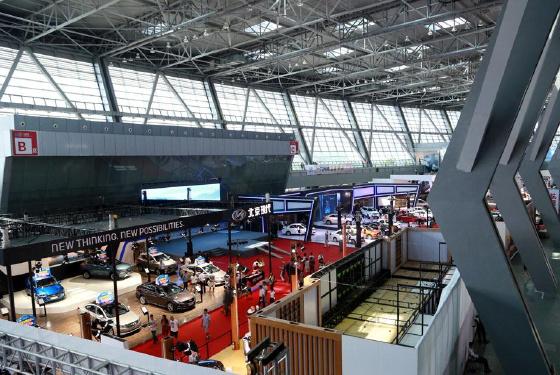 第六届中国—东盟汽车工业博览会13日在广西柳州市开幕