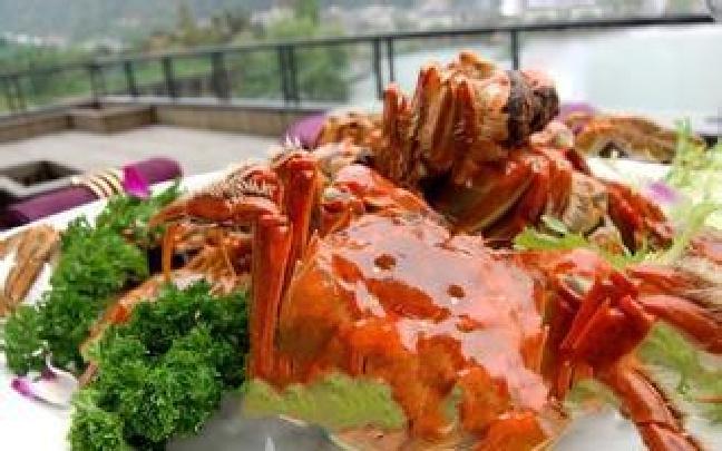 七里海河蟹节开幕 烹饪高手秀绝活