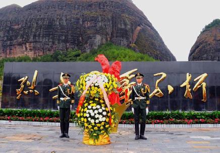 长征胜利80周年 中华烈士第一县江西兴国县公祭英烈