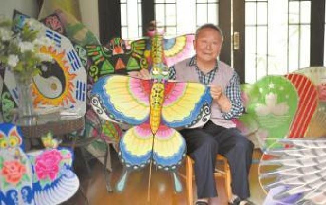传统风筝的坚守者:数学教授的风筝人生