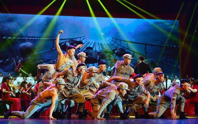 南昌举行纪念红军长征胜利80周年交响音乐会