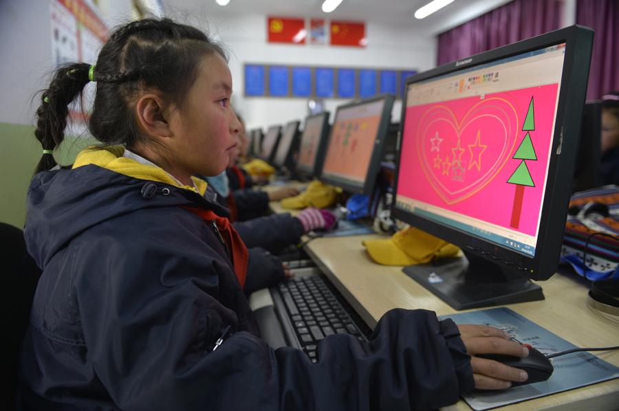 西藏墨竹工卡:推进教育信息化建设