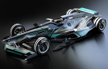 未来大猜想 2030年或许F1赛车将这样