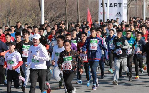 天津师范大学举办校园迷你马拉松
