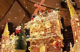 活动现场圣诞装饰