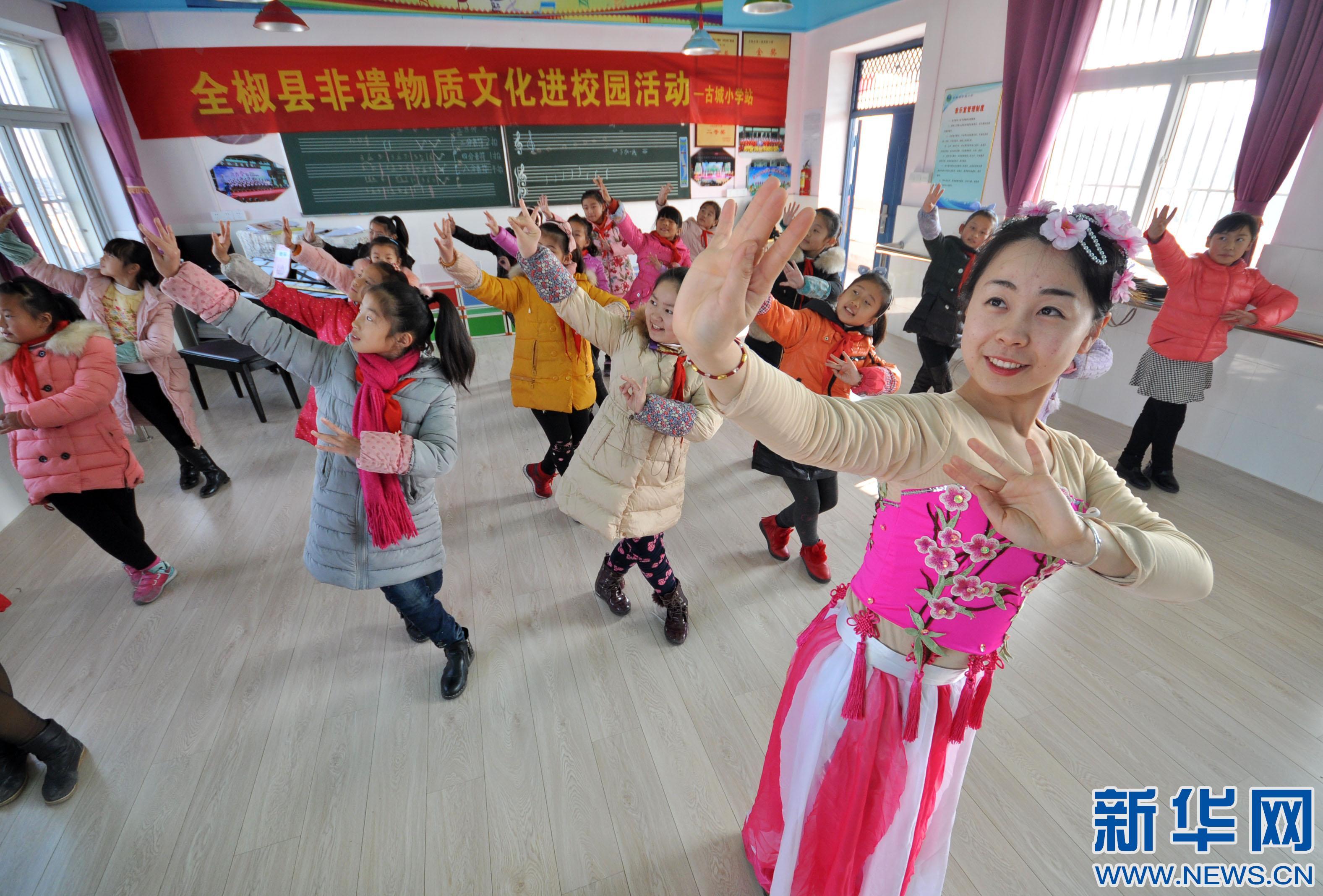 安徽全椒:省级非遗全椒民歌走进小学音乐课