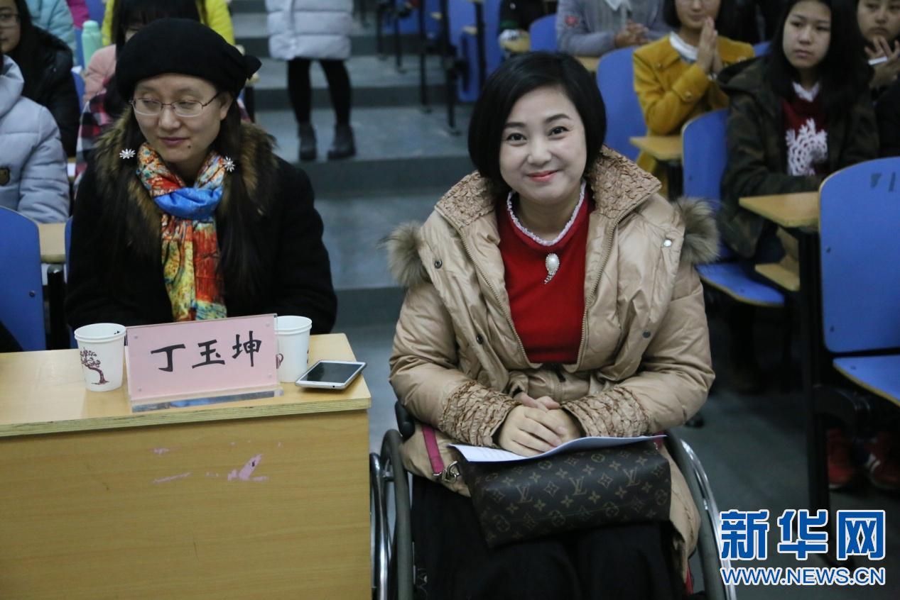 [中国网事•感动河北]感动人物进高校 播撒爱心和坚强的种子