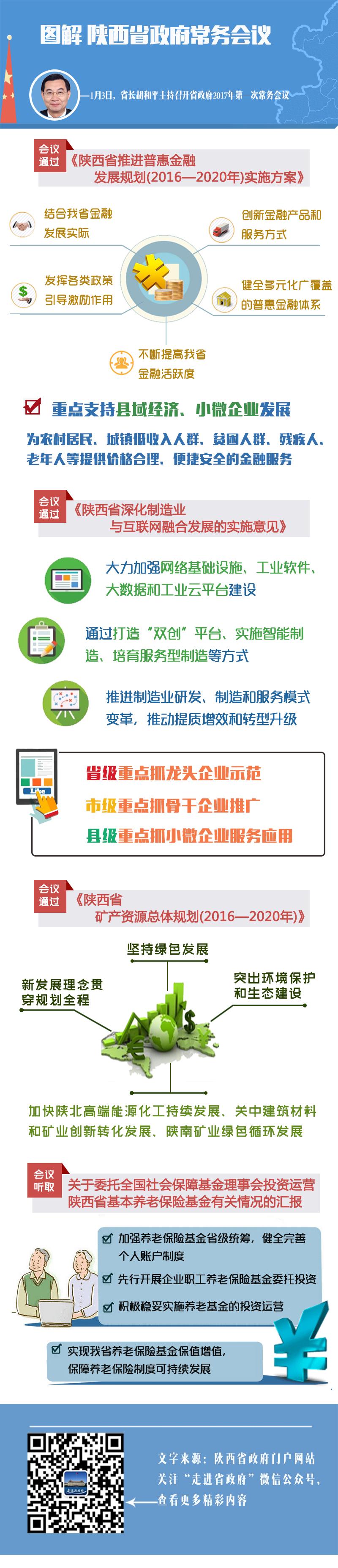 图解:陕西省政府2017年第一次常务会议