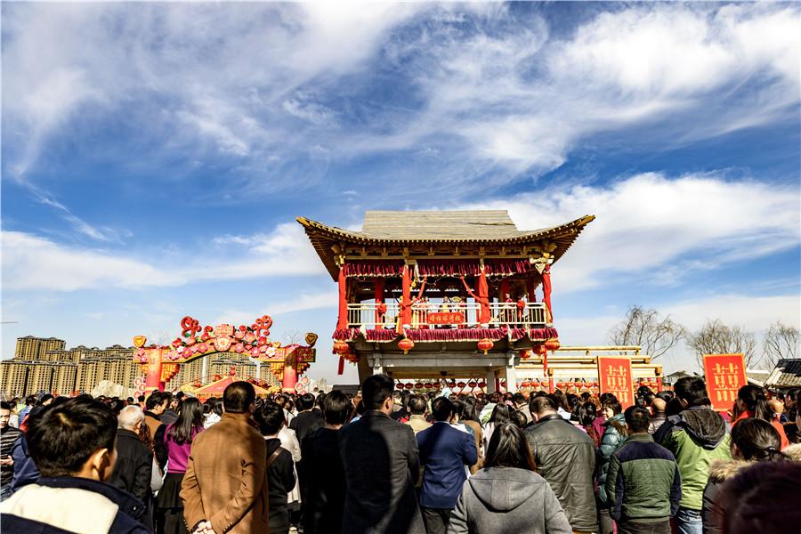 春节来司徒小镇体验红火山西年