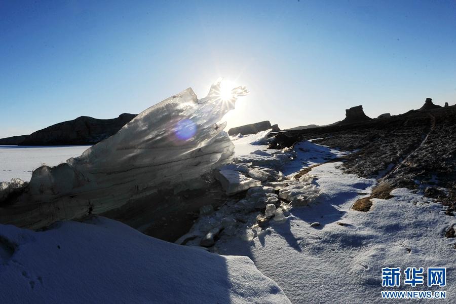 青海海西:飞雪迎新年,聚焦柴达木