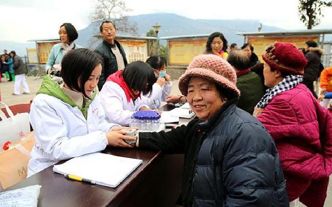 永善:志愿服务进社区 义诊活动暖人心