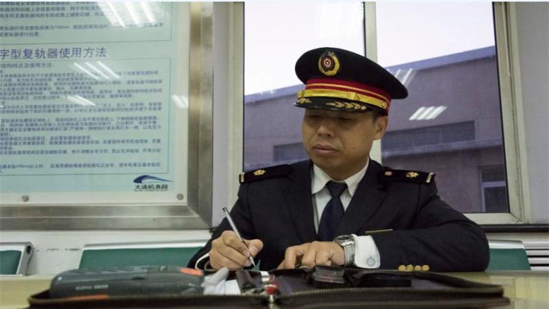 动车组司机吴国利