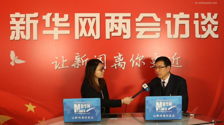 辽宁省政协委员、民建锦州市委主委康杰接受新华网专访