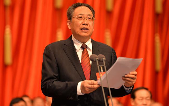 安徽省十二届人大七次会议胜利闭幕