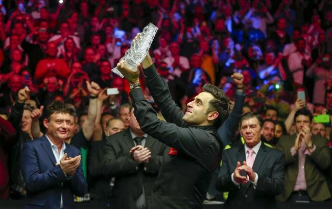 奥沙利文第七次赢得大师赛冠军