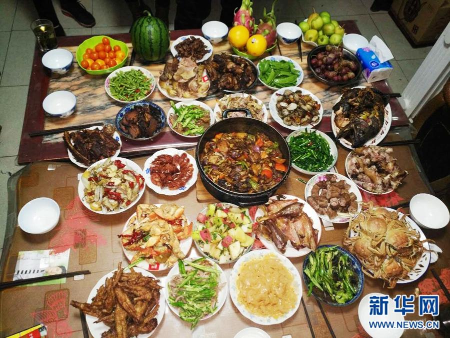 除夕夜过后,晒晒青海人的年夜饭