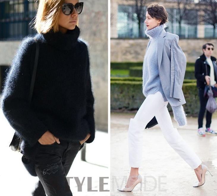 保暖又美貌的一大实用单品 高领毛衣怎么穿?