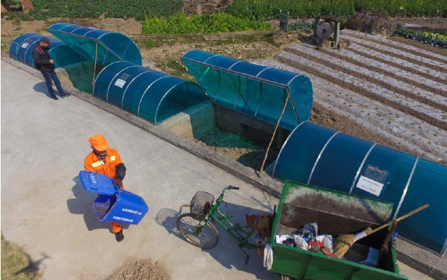 温州:垃圾变废为宝 厨余变身有机肥