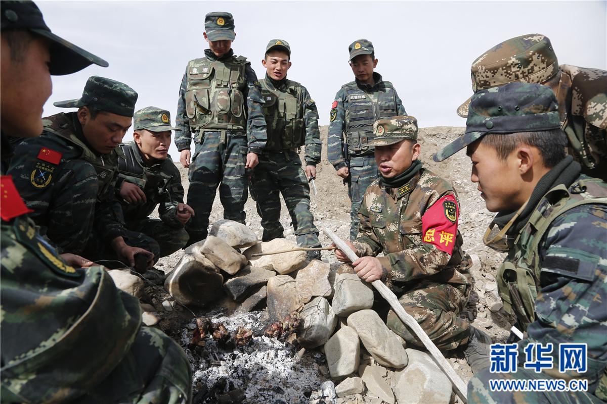 武警海北州支队极限训练重整行装又出发,撸起袖子加油干