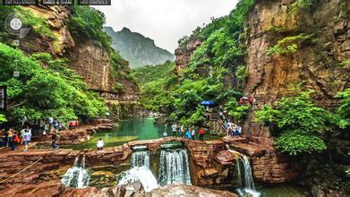 河南:云台山提前进入旅游旺季
