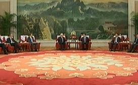 王东峰会见英国伦敦金融城市长庞安竹