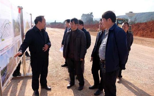 刘涛礼率督查组到师宗县开展2017年第一轮督查