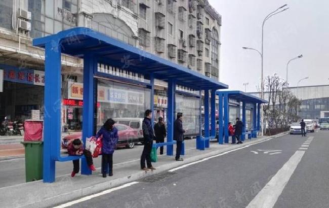 安庆市区27处智能公交候车亭4月底全部投用