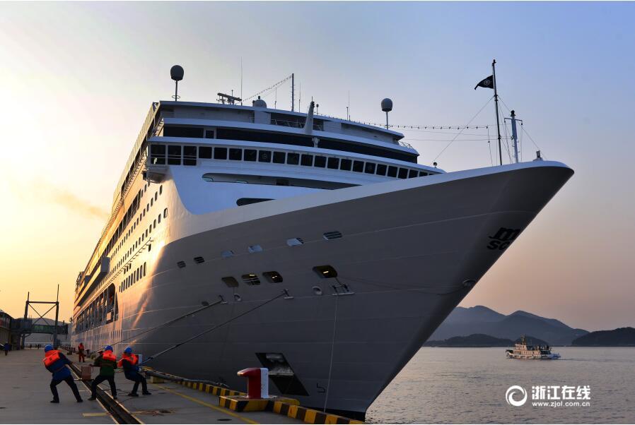 """舟山新增国内首条""""环中国海""""邮轮航线"""