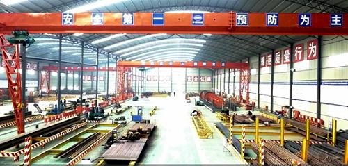 中铁建大桥工程局集团四公司商合杭铁路项目扎实推进标准化建设