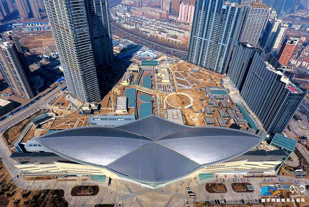 听,建筑在诉说 | 航拍沈阳新世界博览馆