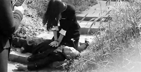 """扫墓途中救人的""""最美女孩""""找到了"""