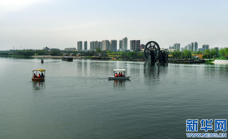 春季美丽生态——富平石川河:碧波荡漾 鸟语花香