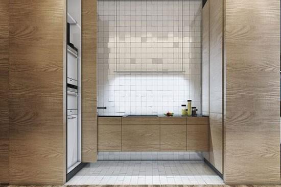 小面积摩登质感单身公寓 一寸空间都没浪费