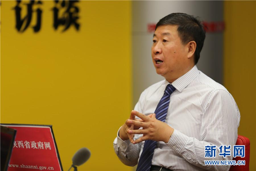 """陕西:将丝博会打造成""""一带一路""""国际合作新平台"""