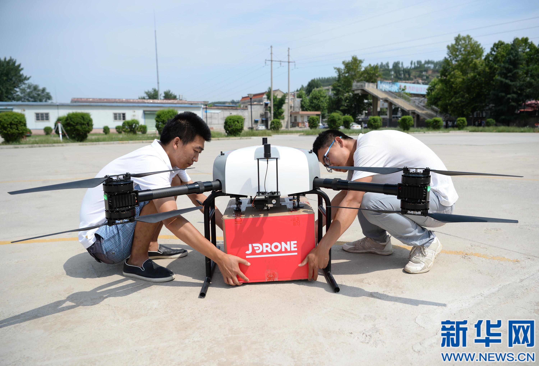 京东无人机送货在西安实现常态化运营