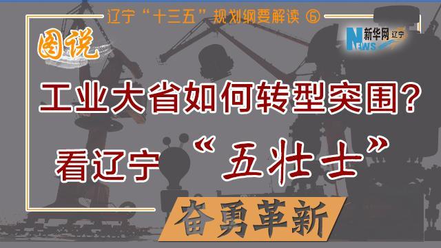 """工业大省如何转型突围?看辽宁""""五壮士""""奋勇革新"""
