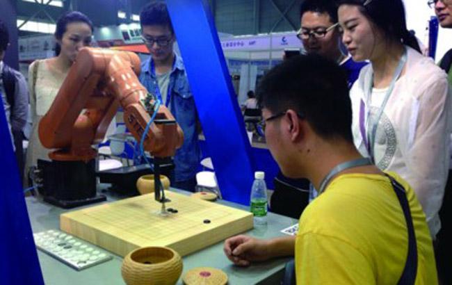 安徽工业机器人在合肥集中亮相