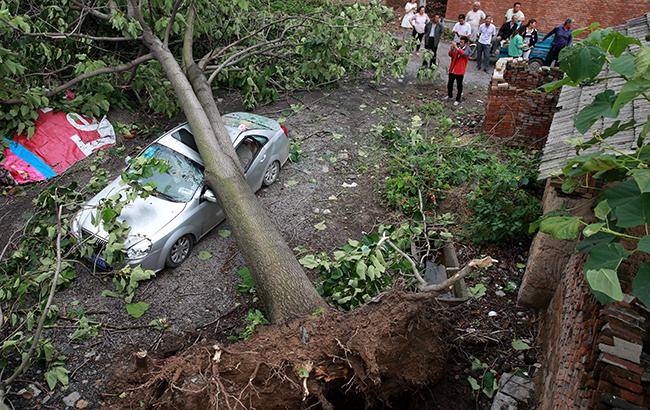 安徽淮北遭雷雨大风强对流天气袭击