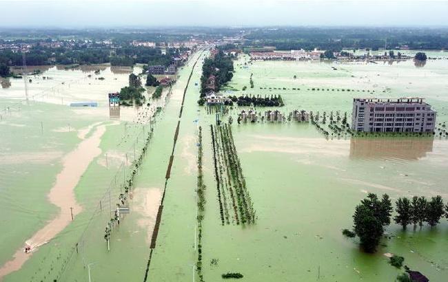 安徽舒城遭遇洪涝灾害