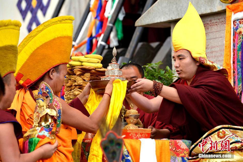西藏古寺协·扎西格培寺迎来建寺700周年庆典