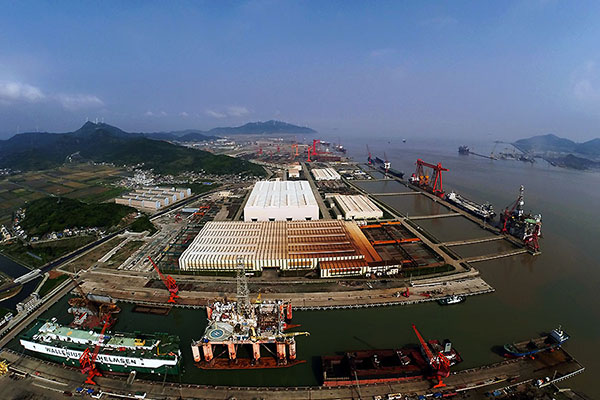 浙江定海:四大工业平台齐发力 积极承载国家海洋战略