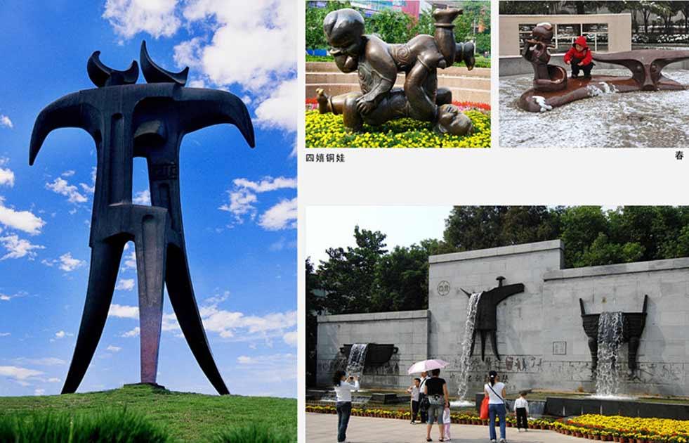 中国铜雕之城——铜陵