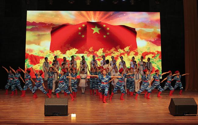 阜阳颍东区举办第六届中华经典诵读展演活动