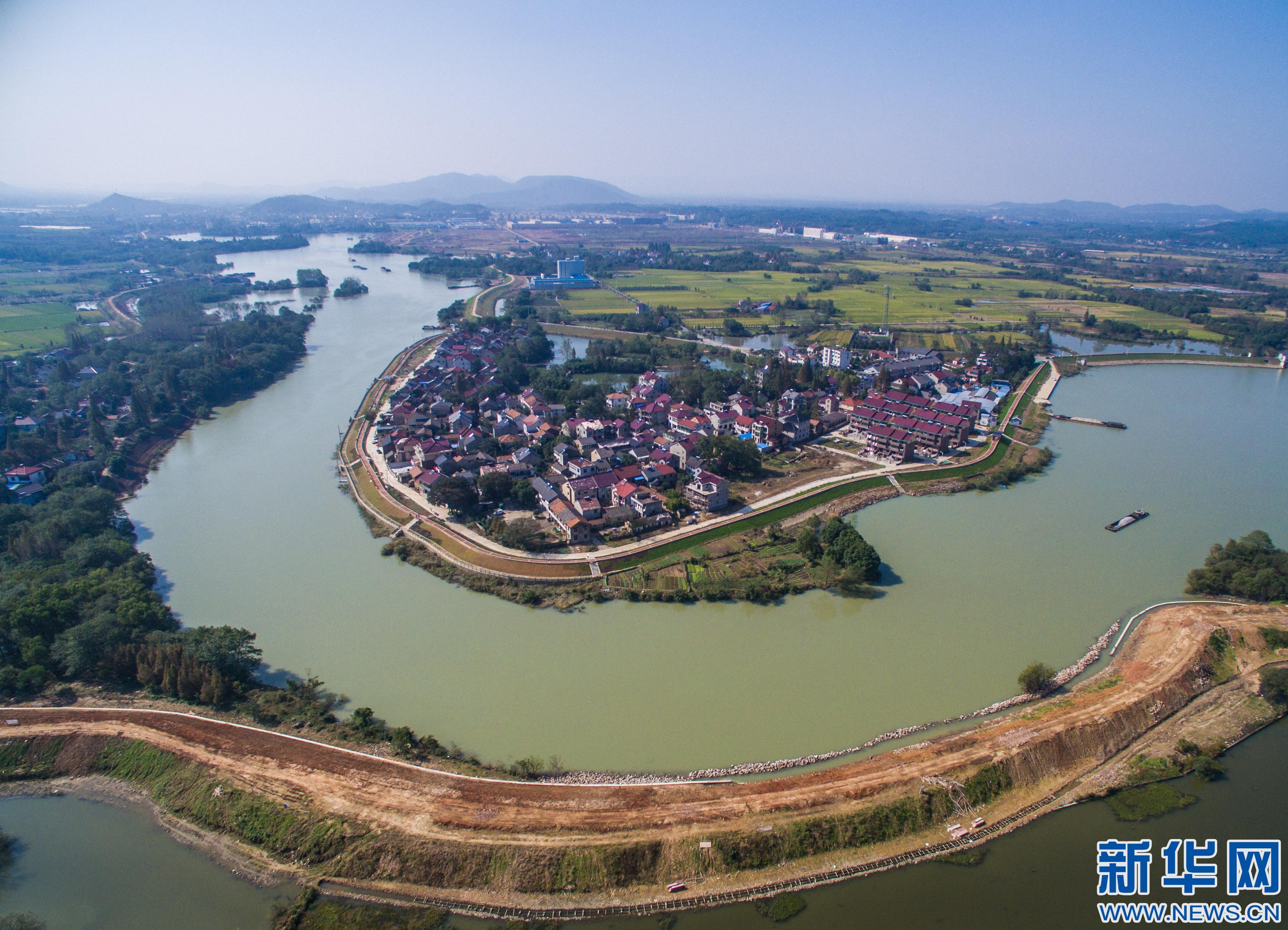 浙江安吉:清水入湖 美丽生态