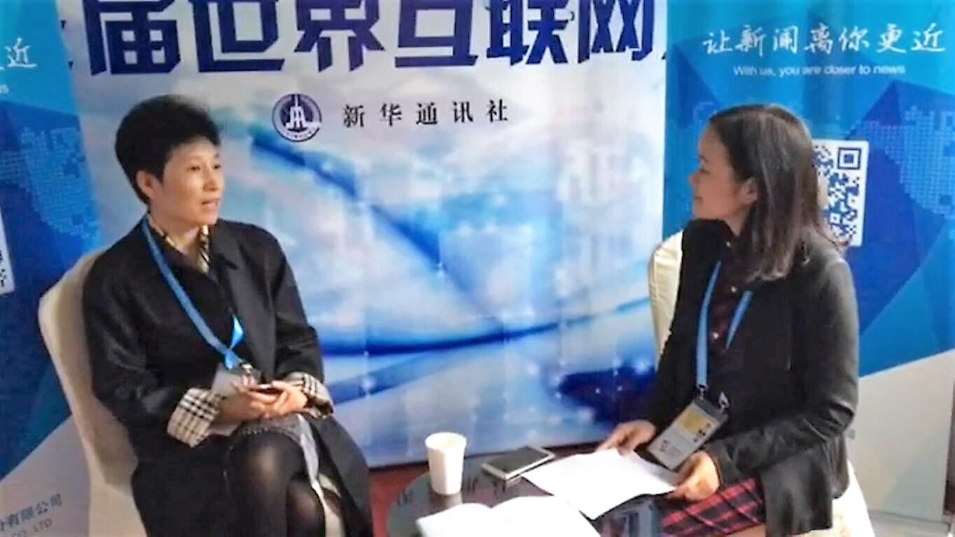 """王茜:大数据会让未来政务成为""""信息跑、百姓不跑"""""""